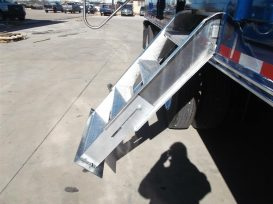 Customized Chemical Trailer Steps