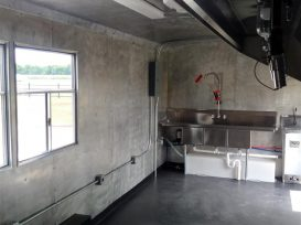 Custom Concession Trailer Interior