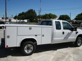 Custom Service Body Trucks