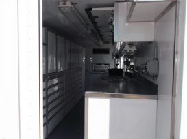 Custom Work Container Interior
